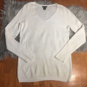 Lane Bryant Long Sleeve White Sweater Size 14/16